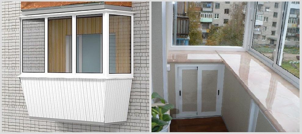 """Остекление балконов с выносом """" продажа и установка деревянн."""